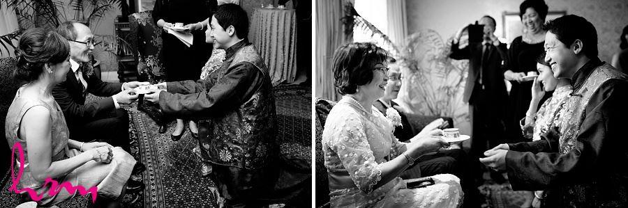 Natalie and Michael Tea ceremony at Graydon Hall Manor Toronto ON Wedding Photography