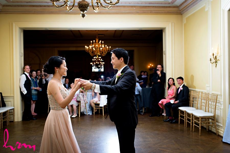 Natalie + Michael first dance Graydon Hall Manor Toronto ON Wedding Photography
