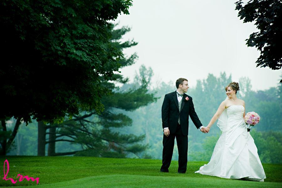 Toronto golf club wedding