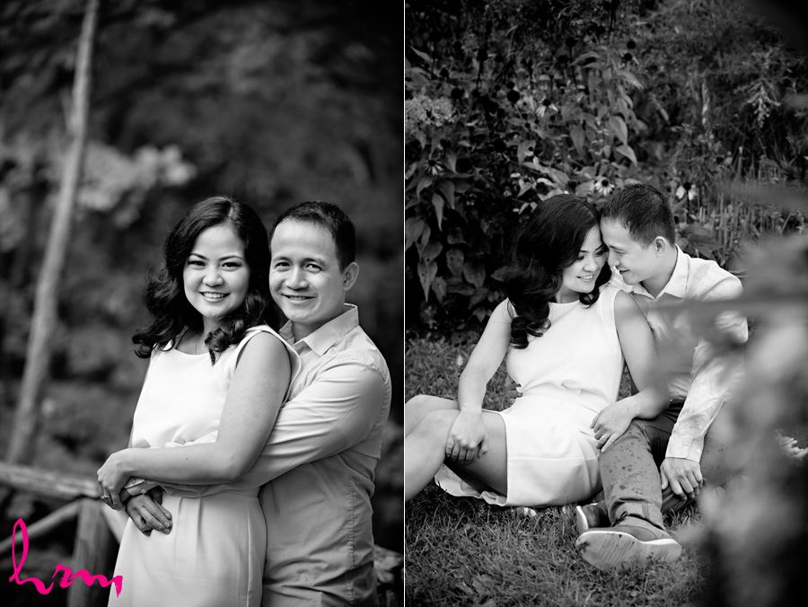 Raleine and Jan Engagement photo shoot in Toronto Ontario, May 2015