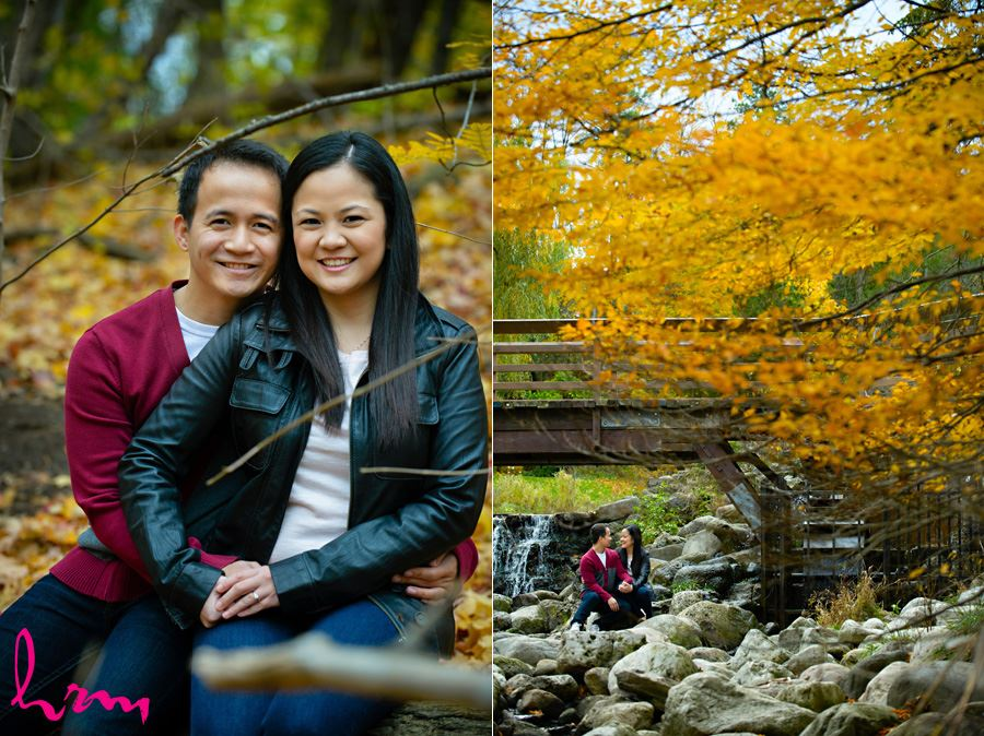 Raleine and Jan Engagement photo shoot in Toronto Ontario, fall 2014