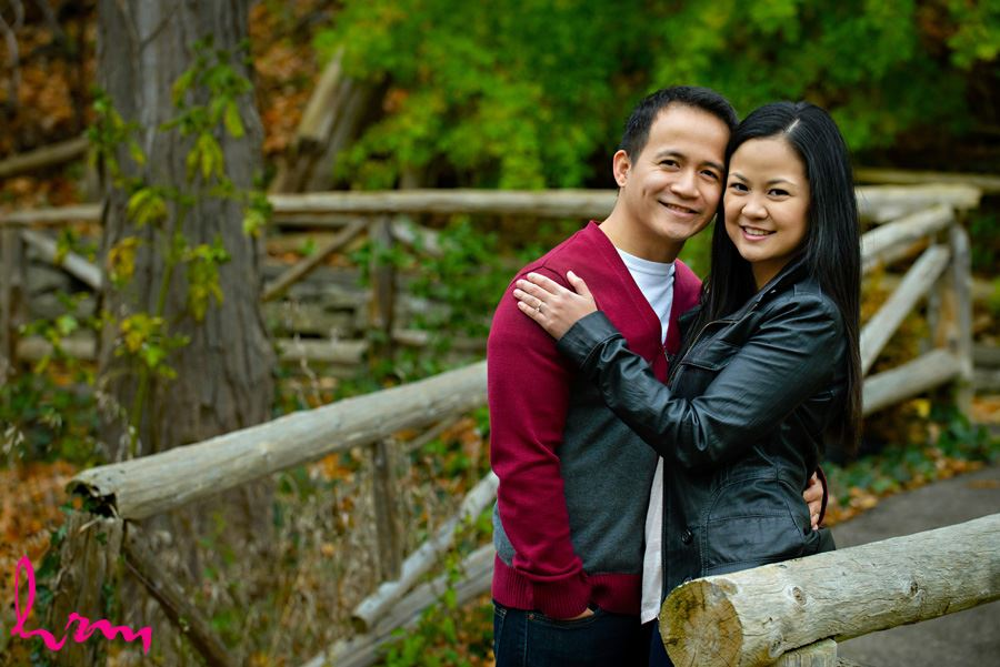 Raleine and Jan Engagement photo shoot in Toronto Ontario