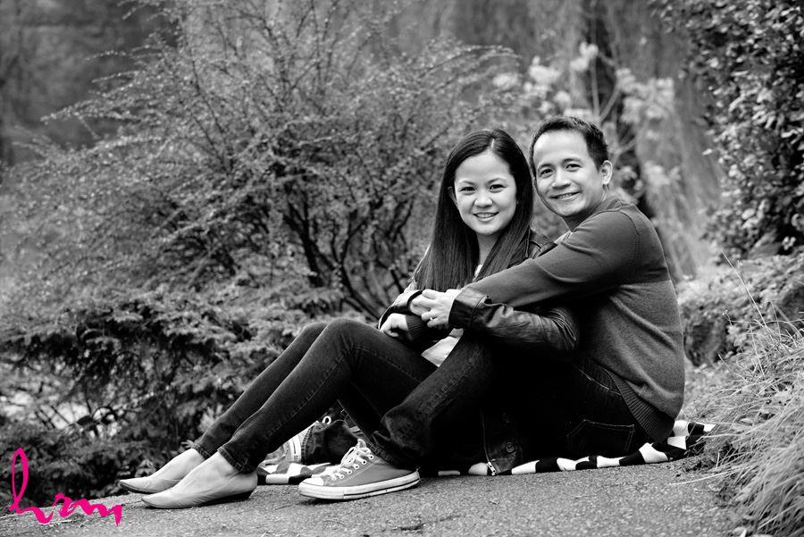 Raleine and Jan Engagement photo shoot in Toronto Ontario