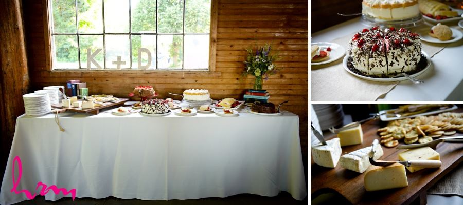 cheese and sweets table wedding reception ideas