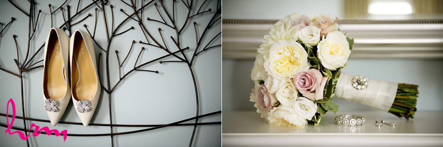 Bride shoes and ring details London Ontario