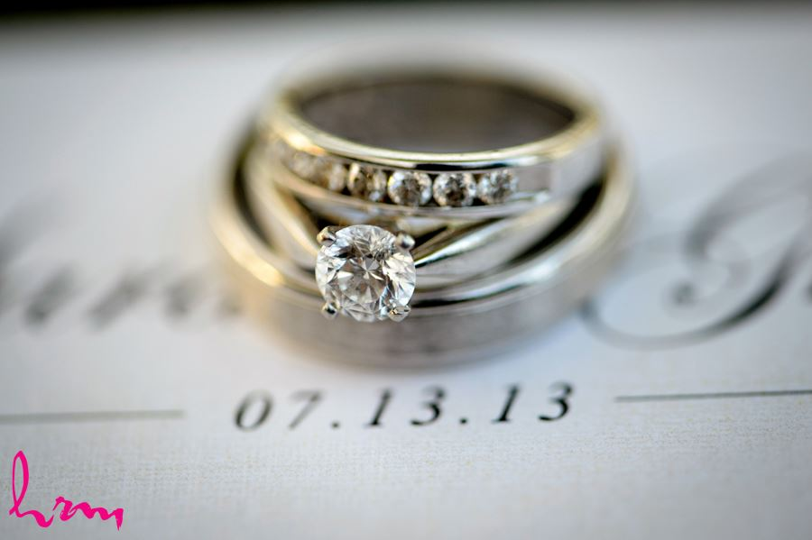 Wedding Ring details in London Ontario