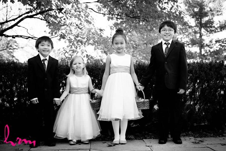 Flowergirls and ring-bearers Windermere Manor London ON Wedding Photography