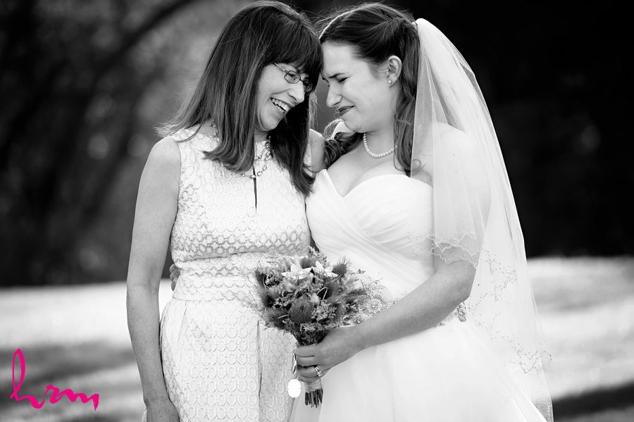 Bride and mother at Windermere Manor London ON Wedding Photography