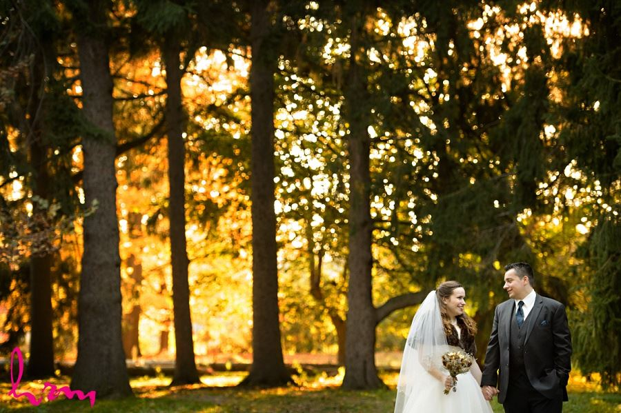 Matt and Grace in forest London ON Wedding HRM Photography