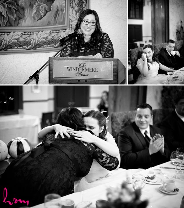 Speeches at Windermere Manor London ON Wedding HRM Photography