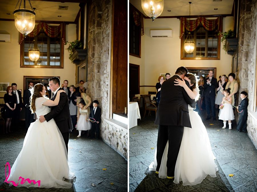 The first dance at Windermere Manor London ON Wedding Photography