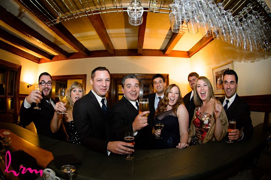 Cheers at Windermere Manor London ON Wedding Photography