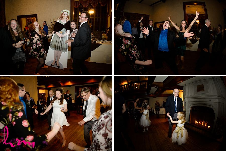 Dancing with guests Windermere Manor London ON Wedding HRM Photography