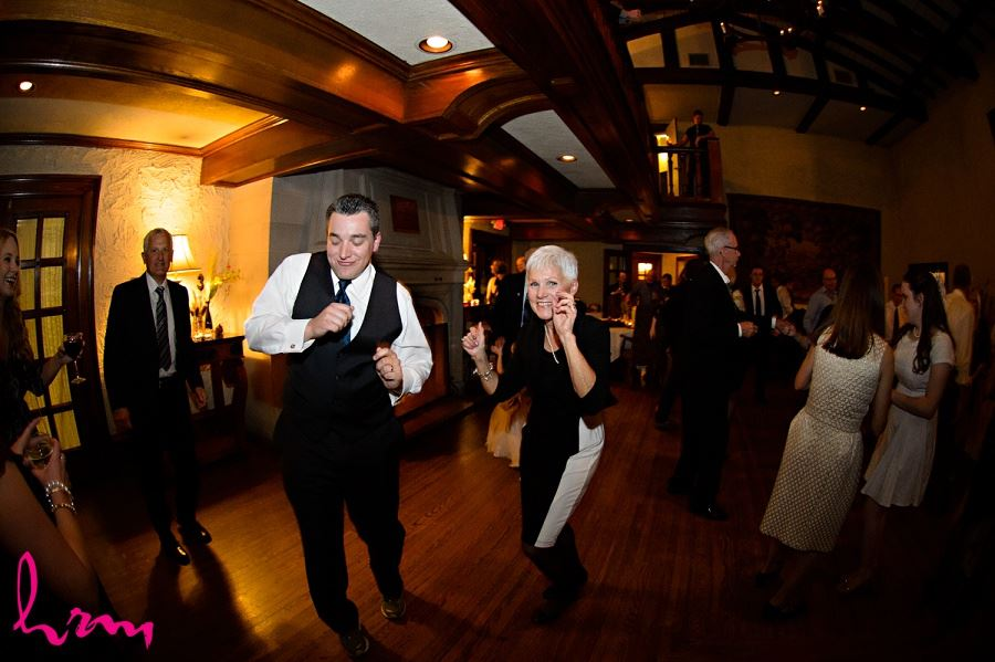 Dancing with guests Windermere Manor London ON Wedding Photography