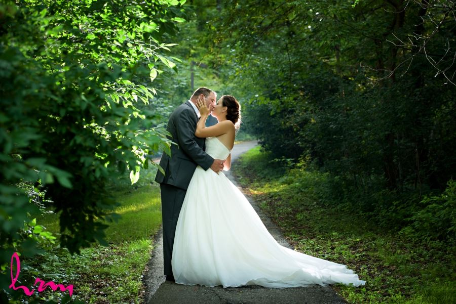 windermere manor wedding outdoor shot