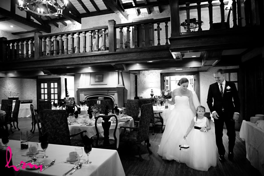 beautiful bride windermere manor pre ceremony