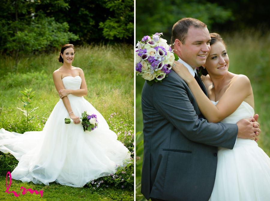 bride and groom outdoor photos windermere manor
